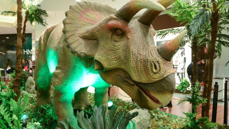 Que tal um passeio no mundo dos dinossauros?