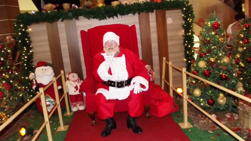 Papai Noel já chegou