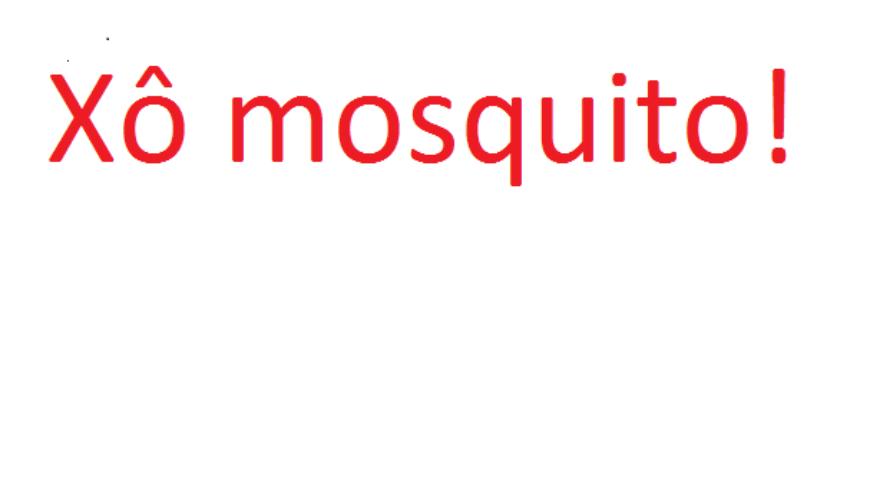 Protegendo a pele contra os mosquitos