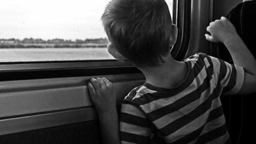 A aventura de viajar com crianças pequenas