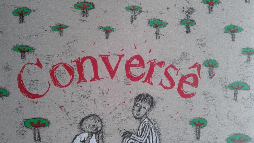 "Vamos ""conversê""?"