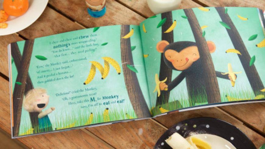 Lindos livros personalizados para crianças