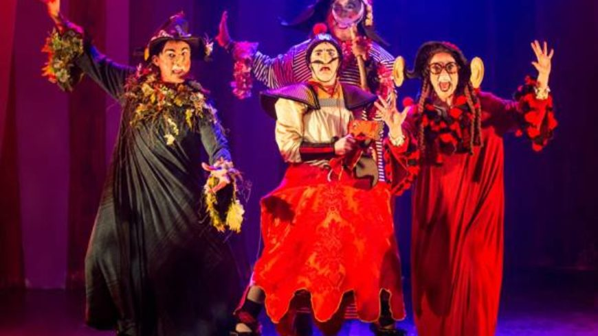 'Bruxas da Escócia' na Caixa Cultural