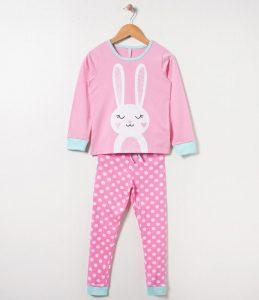 Pijama infantil, na Renner. R$ 59,90