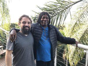 Chaps Melo e Milton Nascimento/ Foto de Divulgação