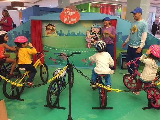 Atrações infantis nos shoppings