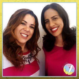 Luana Salles (à esquerda) e Viviane Machado (à direita): criadoras do site Pequenos Estilistas